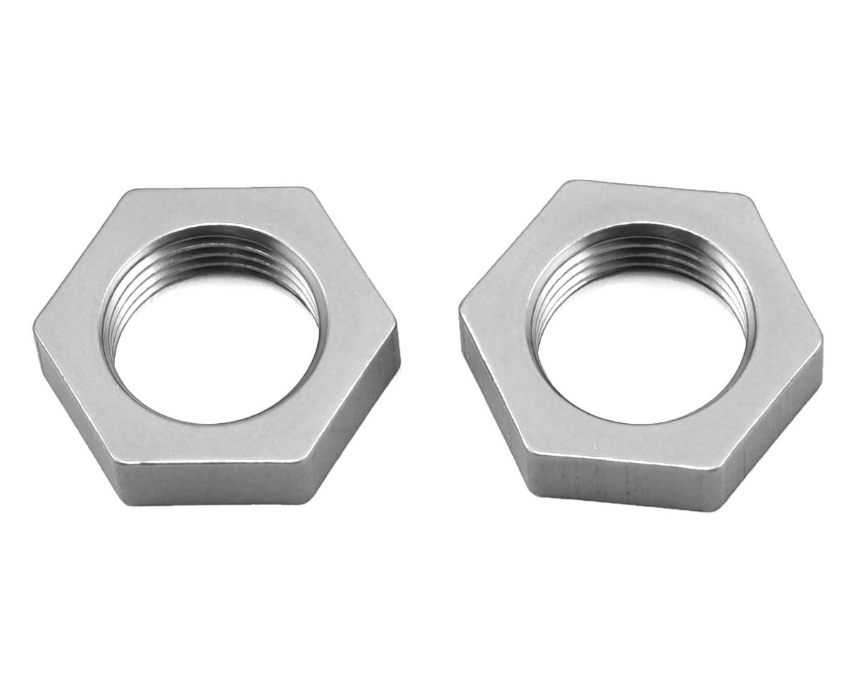 ST Racing Concepts Wraith Aluminum 17mm Hex Nut (2) (Silver)