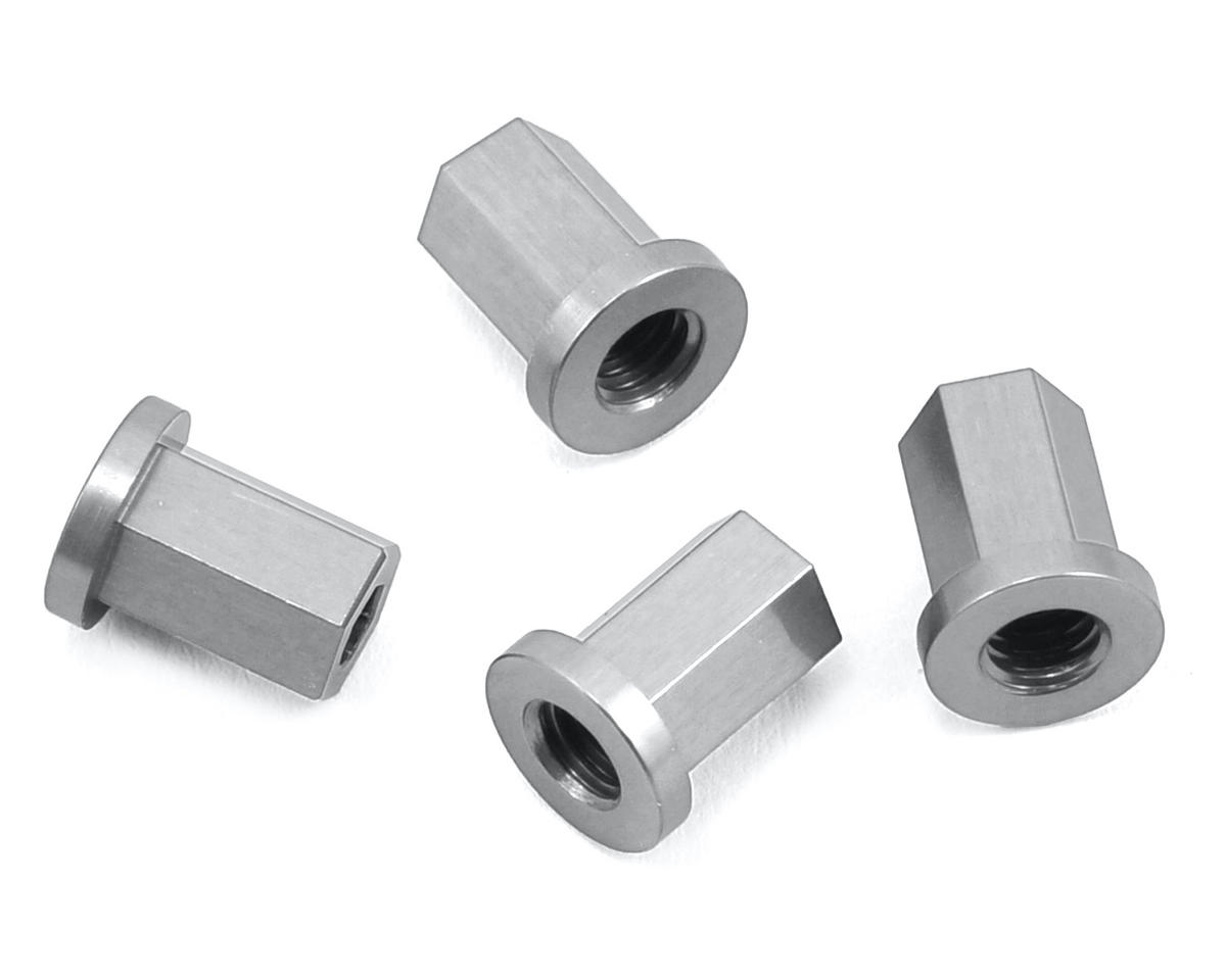 ST Racing Concepts Wraith Aluminum Internal Locknut (4) (Silver)