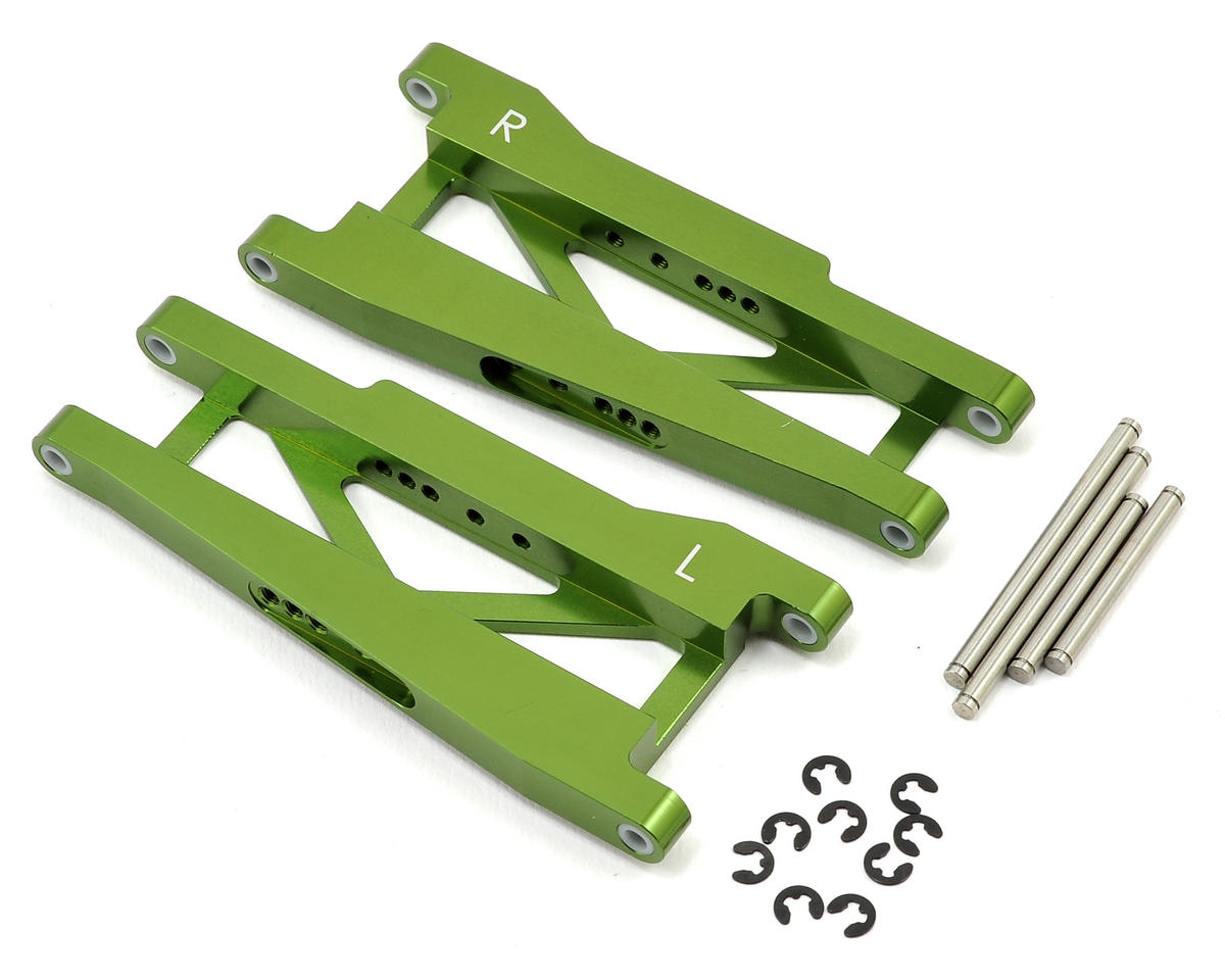 ST Racing Concepts Aluminum Rear A-Arm Set (Green)