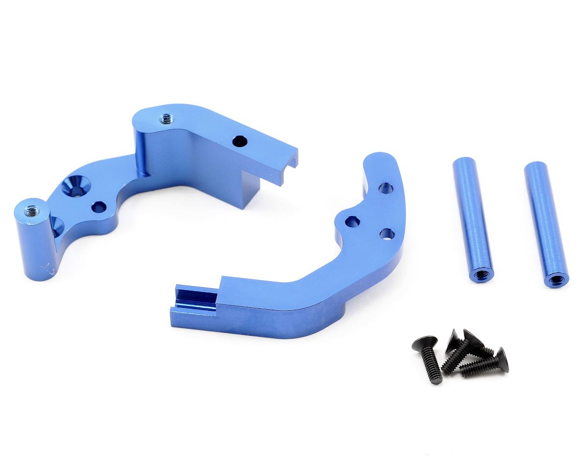 ST Racing Concepts Aluminum Rear Motor Guard (Blue)