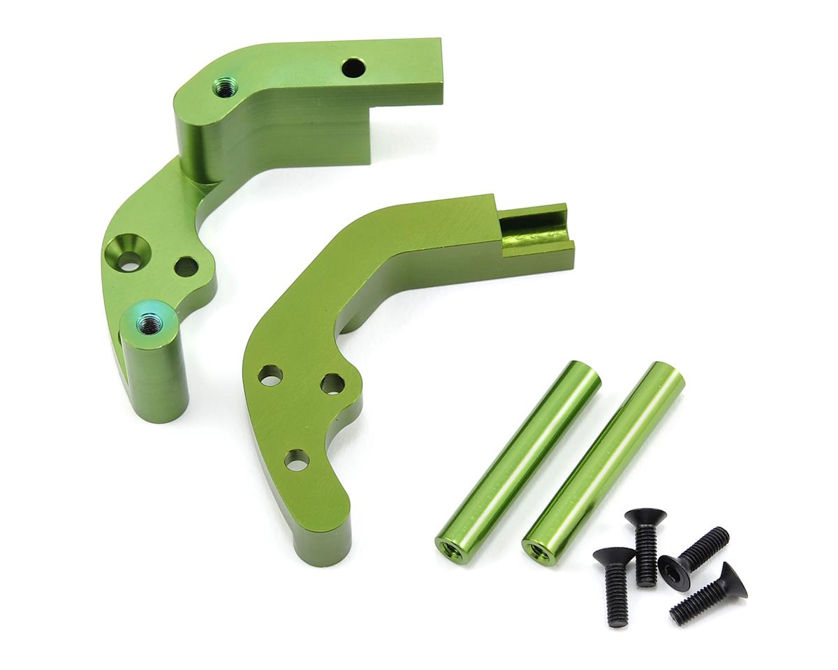 ST Racing Concepts Aluminum Rear Motor Guard (Green)