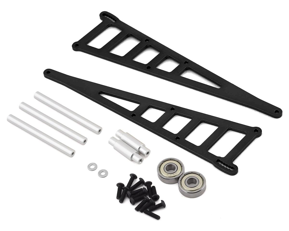 ST Racing Concepts Traxxas Rustler Slash Aluminum Adjustable Wheelie Bar Kit (Black)