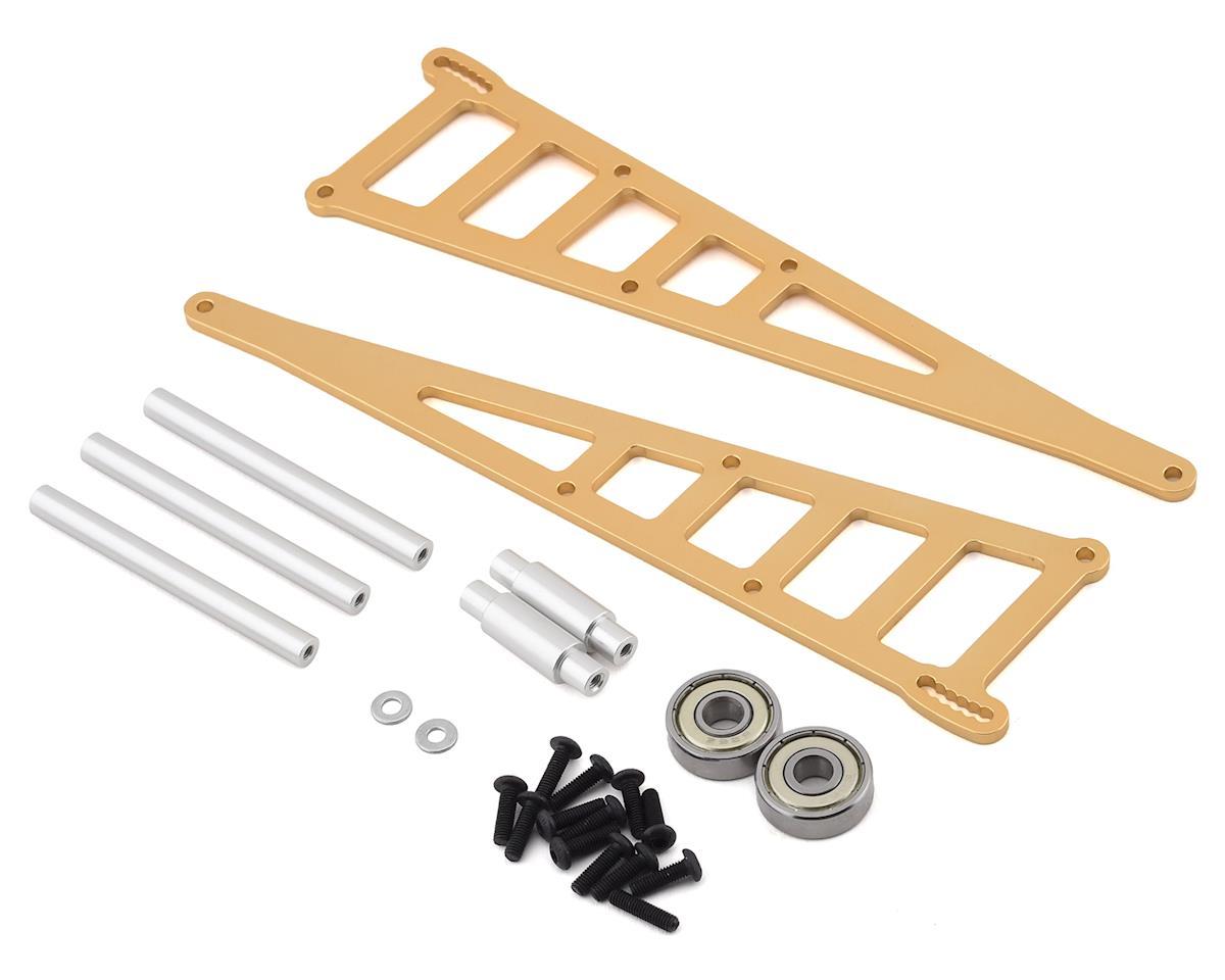 ST Racing Concepts Traxxas Slash Aluminum Adjustable Wheelie Bar Kit (Gold)