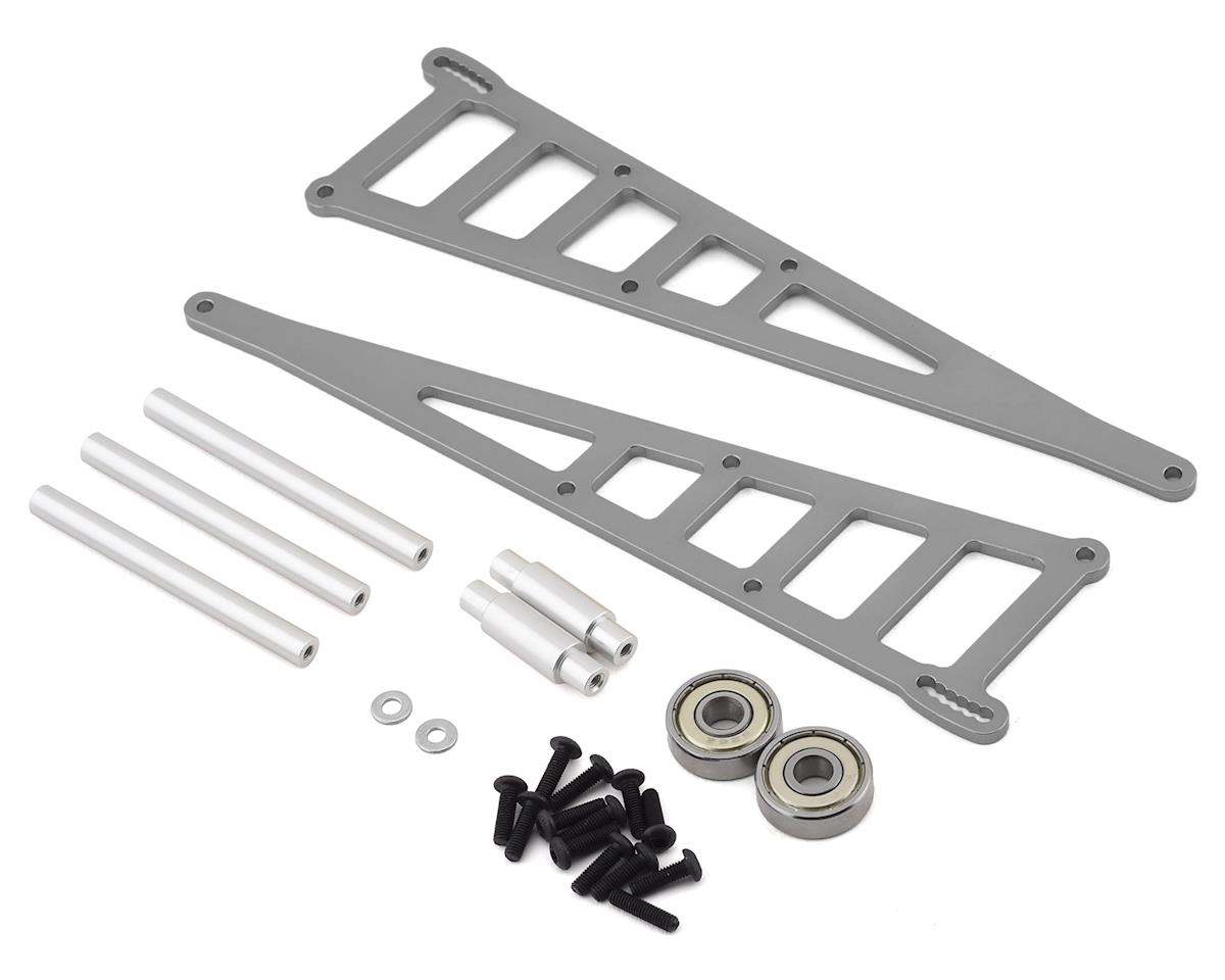ST Racing Concepts Traxxas Slash Aluminum Adjustable Wheelie Bar Kit (Gun Metal)