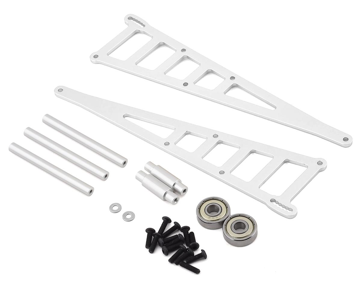 ST Racing Concepts Traxxas Slash Aluminum Adjustable Wheelie Bar Kit (Silver)