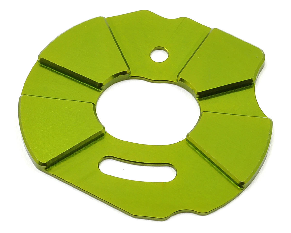 ST Racing Concepts Aluminum Heatsink Motor Plate (Green)