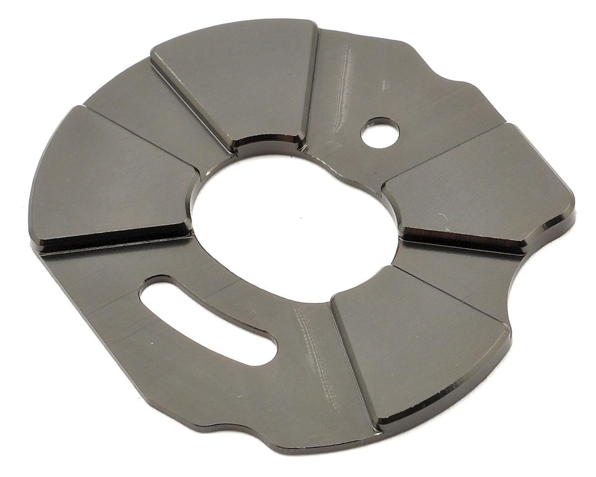 ST Racing Concepts Aluminum Heatsink Motor Plate (Gun Metal)