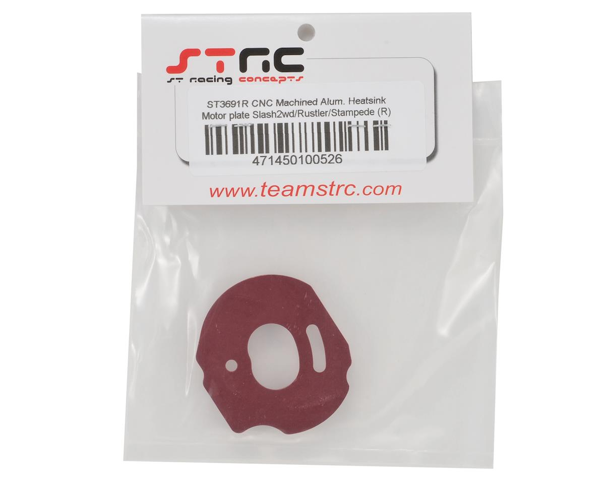 ST Racing Concepts Aluminum Heatsink Motor Plate (Red)
