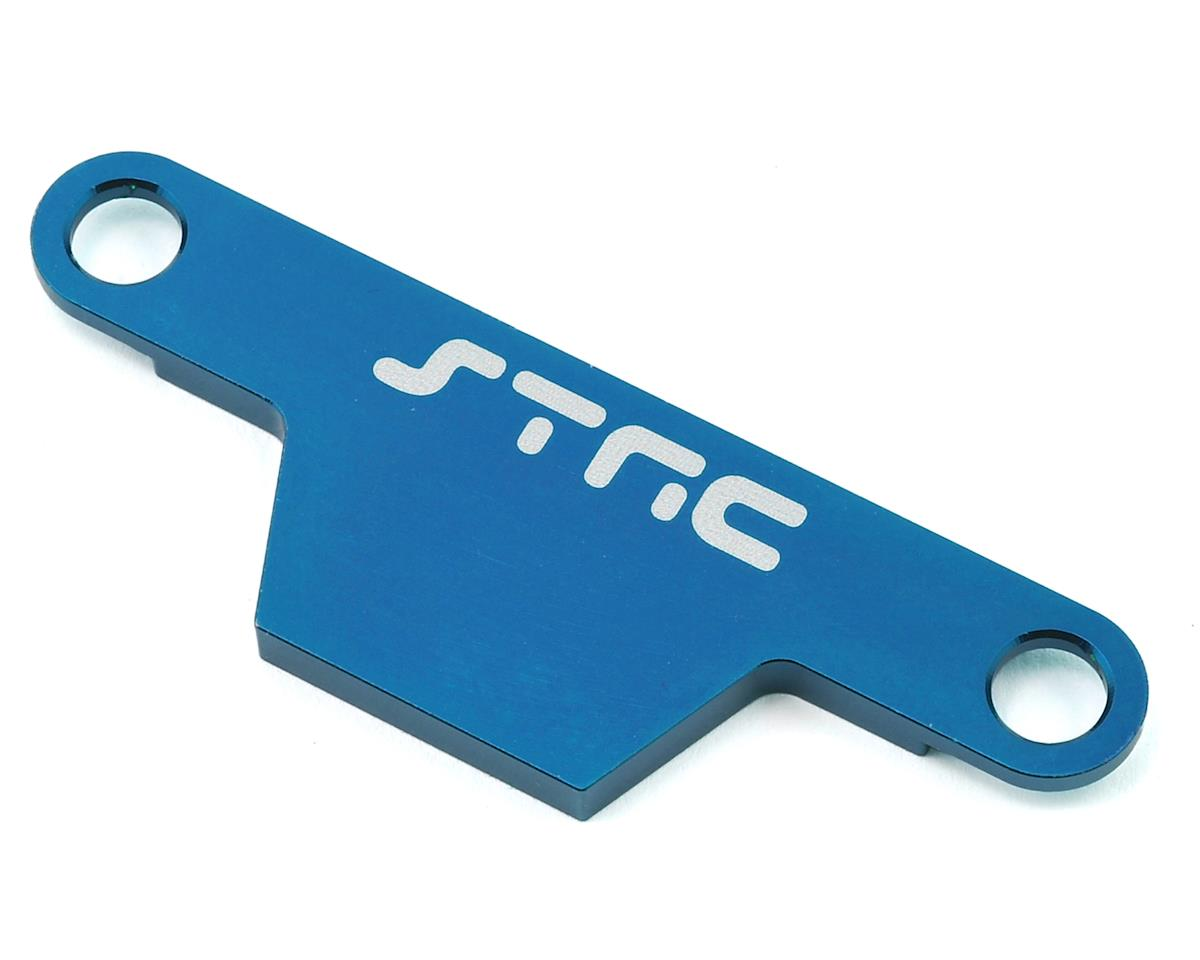 ST Racing Concepts Rustler/Bandit Aluminum Battery Strap (Blue)