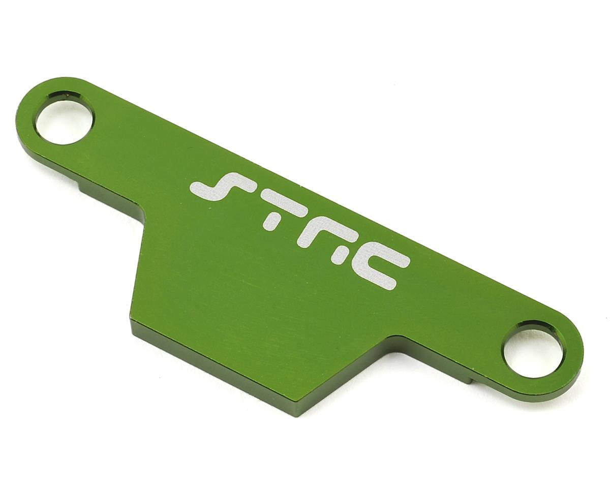 ST Racing Concepts Rustler/Bandit Aluminum Battery Strap (Green)