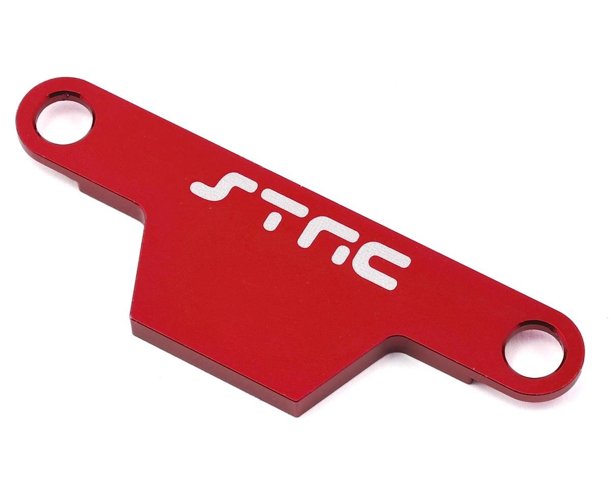 ST Racing Concepts Rustler/Bandit Aluminum Battery Strap (Red)