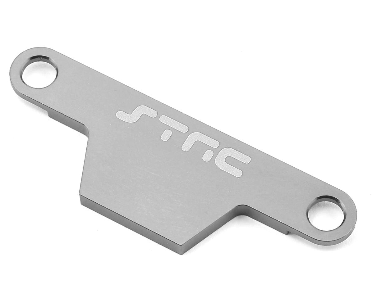 ST Racing Concepts Rustler/Bandit Aluminum Battery Strap (Silver)