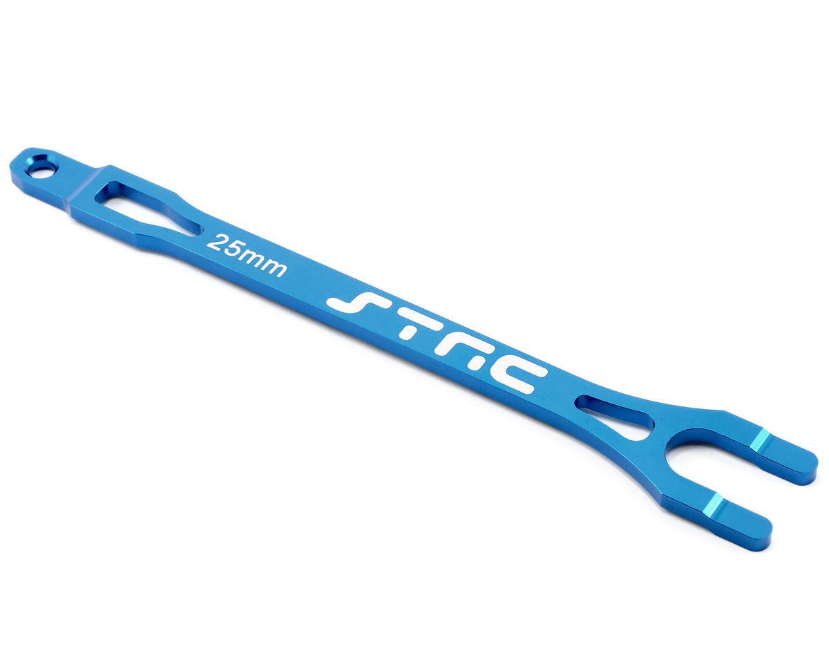 Aluminum Battery Strap (Blue) by ST Racing Concepts