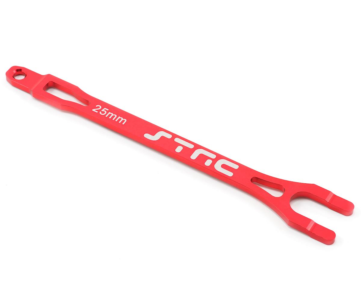 ST Racing Concepts Aluminum Battery Strap (Red) | relatedproducts