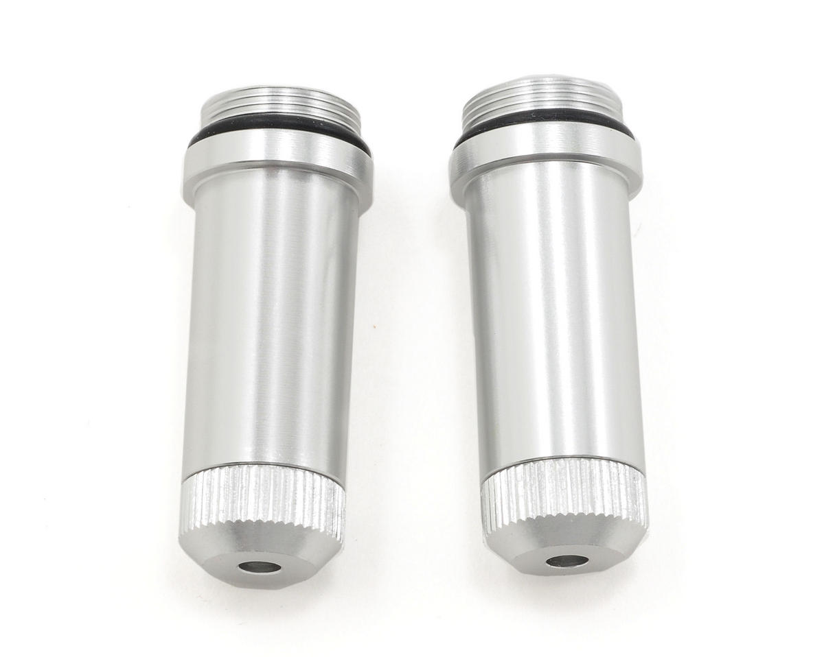 ST Racing Concepts Aluminum Front Shock Body & Lower Cap (Silver)