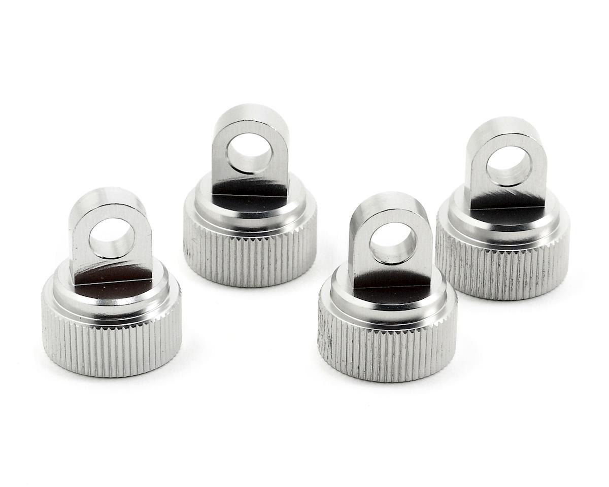 ST Racing Concepts Aluminum Shock Cap (Silver) (4)
