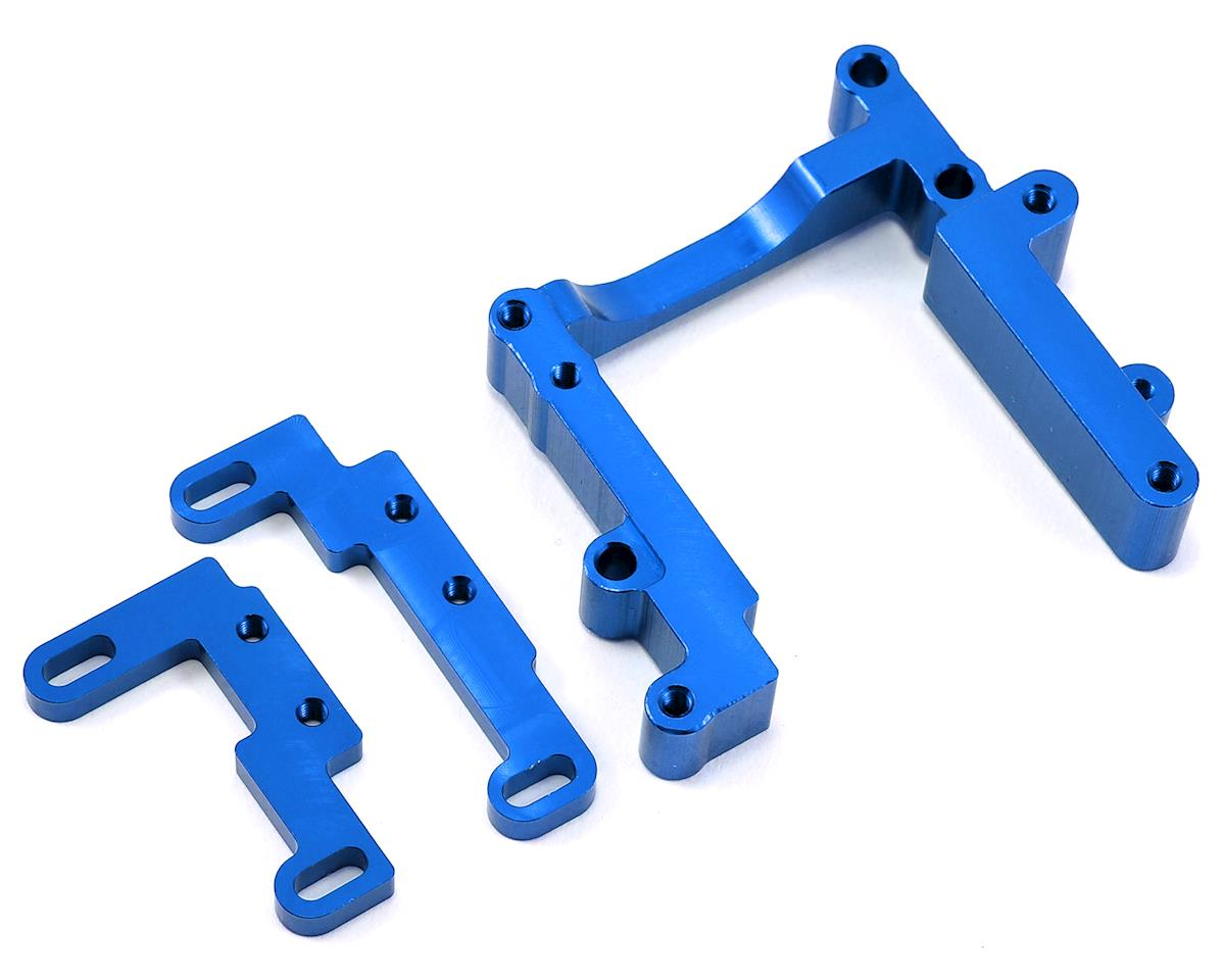 Slash Aluminum Engine Mount (Blue) by ST Racing Concepts