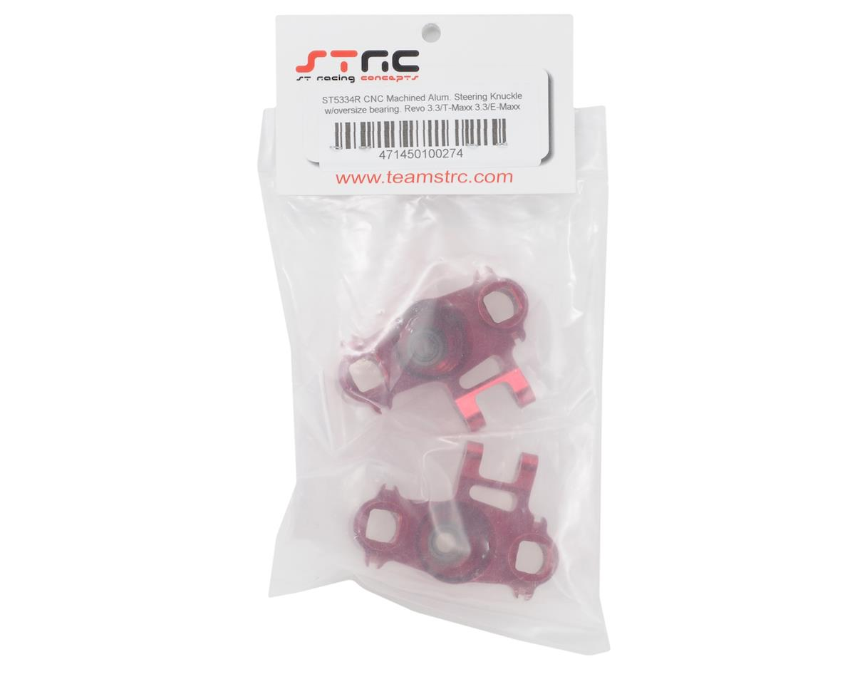 ST Racing Concepts Heavy Duty Aluminum Steering Knuckles w/Larger Bearings (Red)