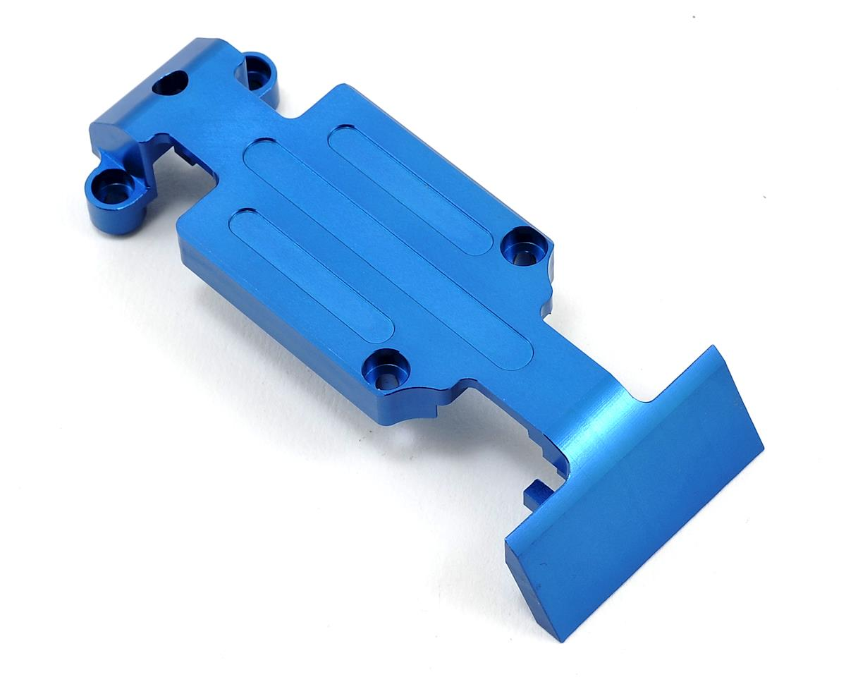 ST Racing Concepts Heavy Duty Rear Skid Plate (Blue) (Traxxas E-Revo)