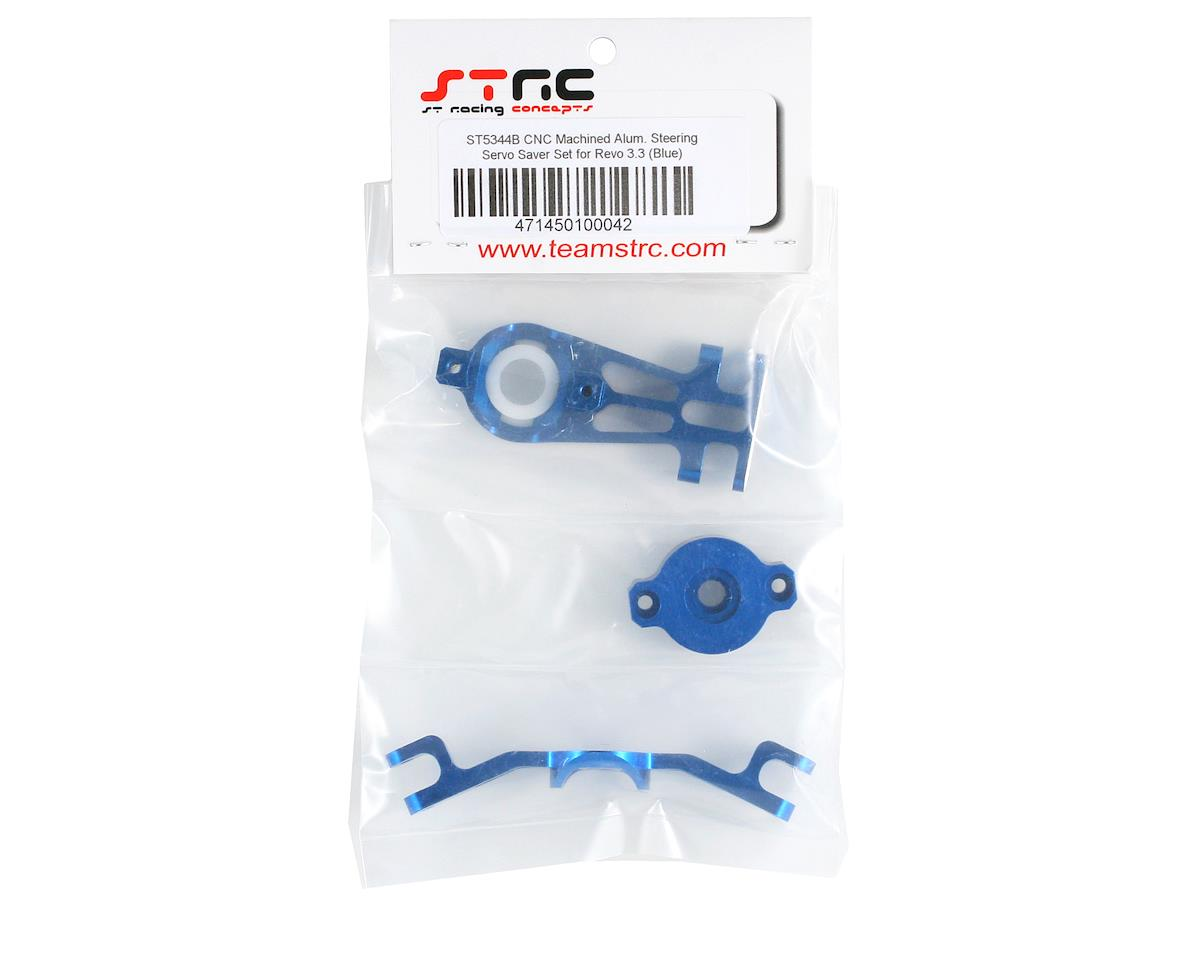 ST Racing Concepts Servo Saver Linkage (Blue) (Revo)