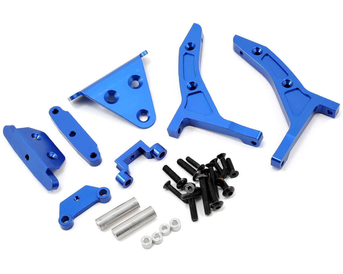 Traxxas Slash 4x4 1/8th Scale E-Buggy Conversion Kit (Blue) by ST Racing Concepts