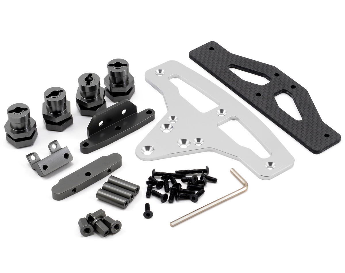 ST Racing Concepts Slash 4x4 GT-8/Rally Cross Conversion Kit (Gun Metal)