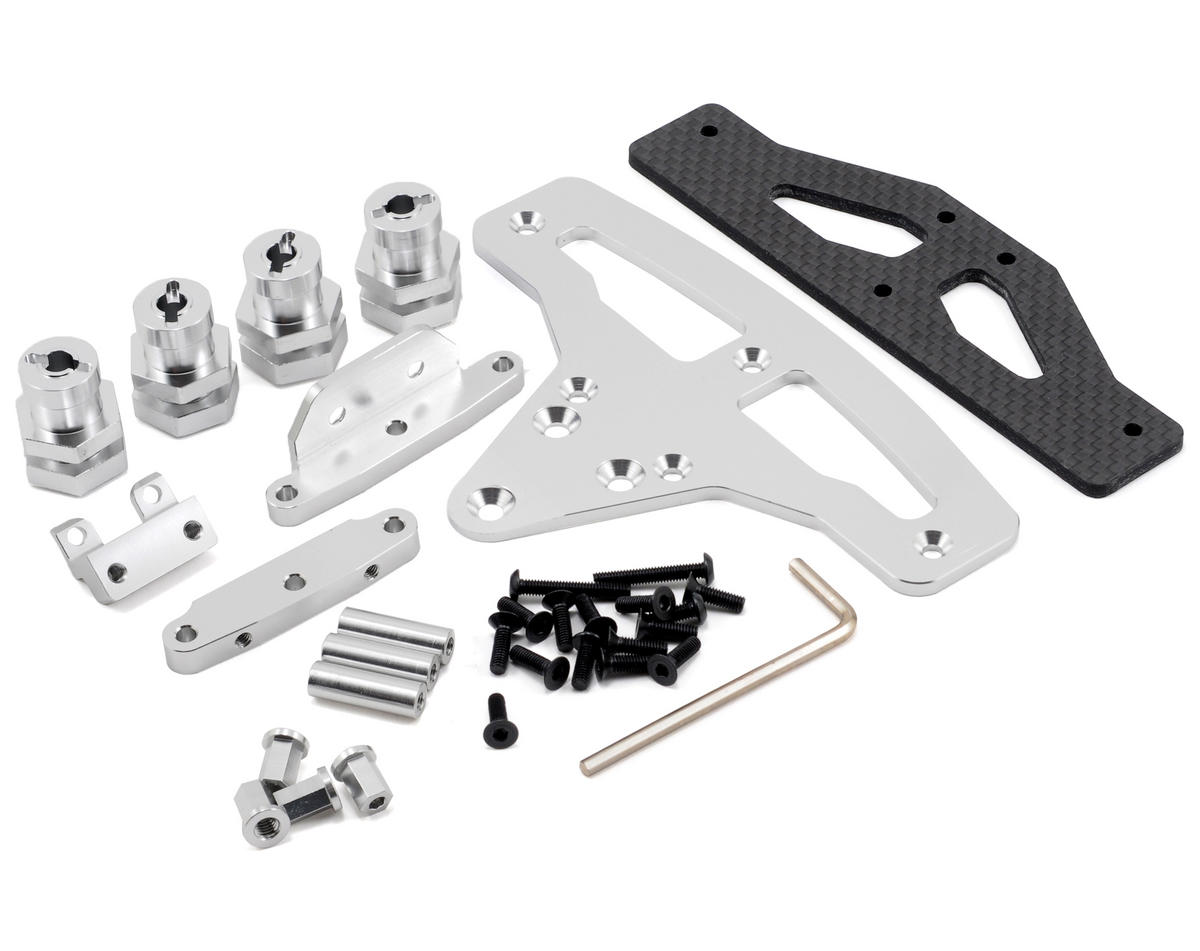 ST Racing Concepts Slash 4x4 GT-8/Rally Cross Conversion Kit (Silver)