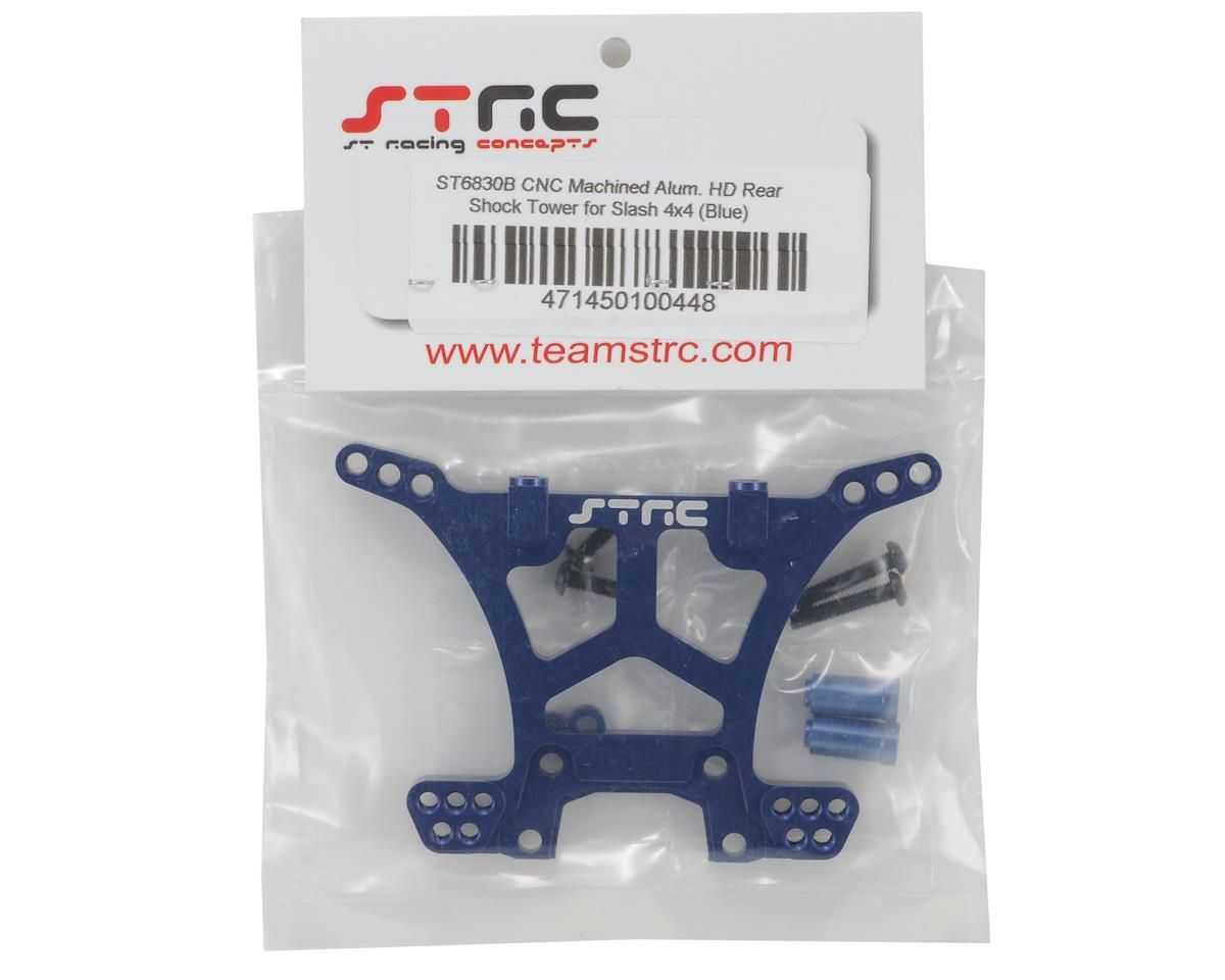 Aluminum HD Rear Shock Tower (Blue) (Slash 4x4) by ST Racing Concepts