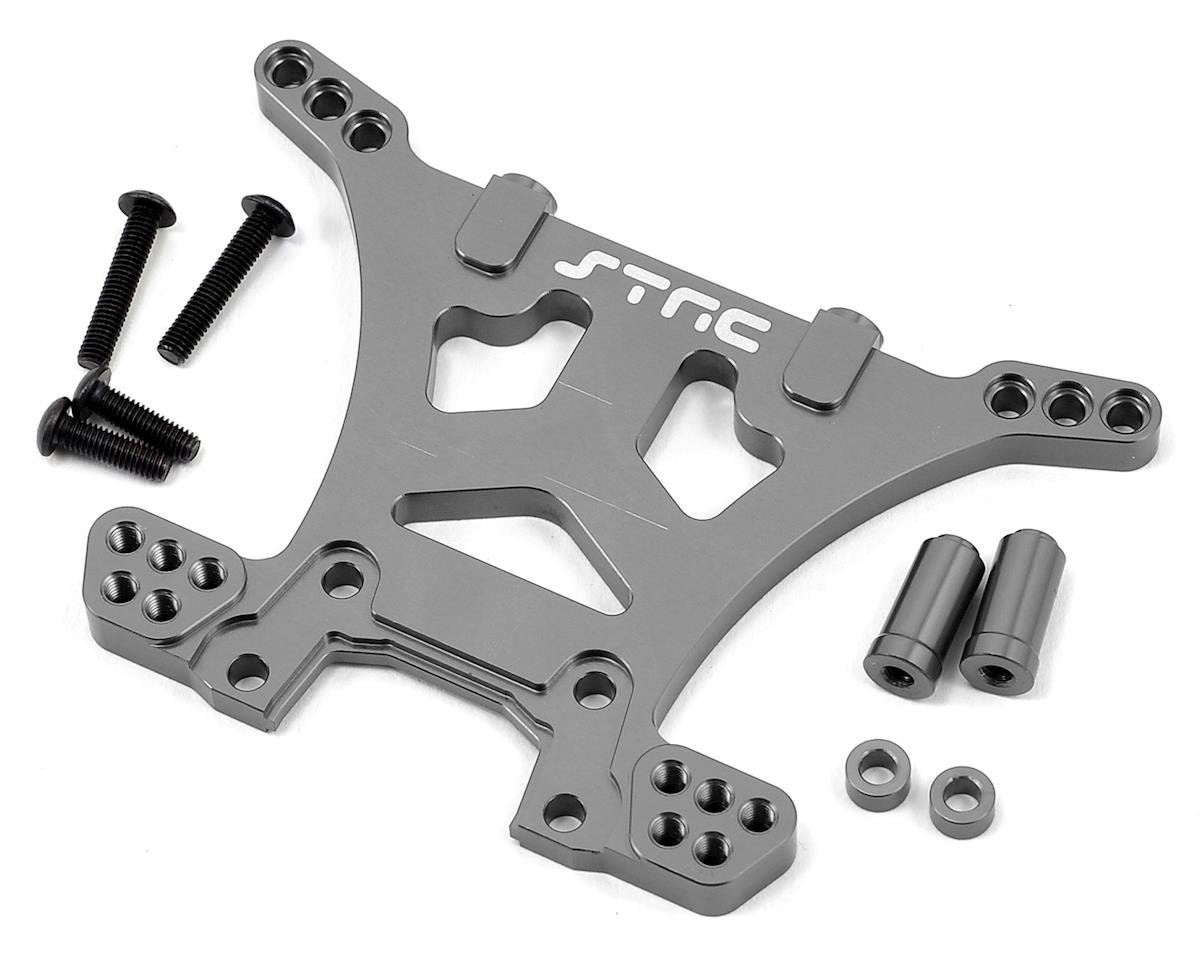 Aluminum HD Rear Shock Tower (Gun Metal) (Slash 4x4) by ST Racing Concepts