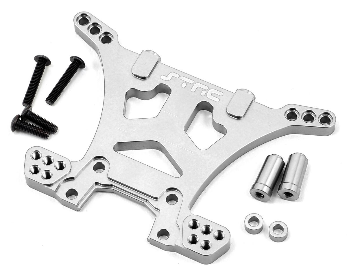 Aluminum HD Rear Shock Tower (Silver) (Slash 4x4) by ST Racing Concepts