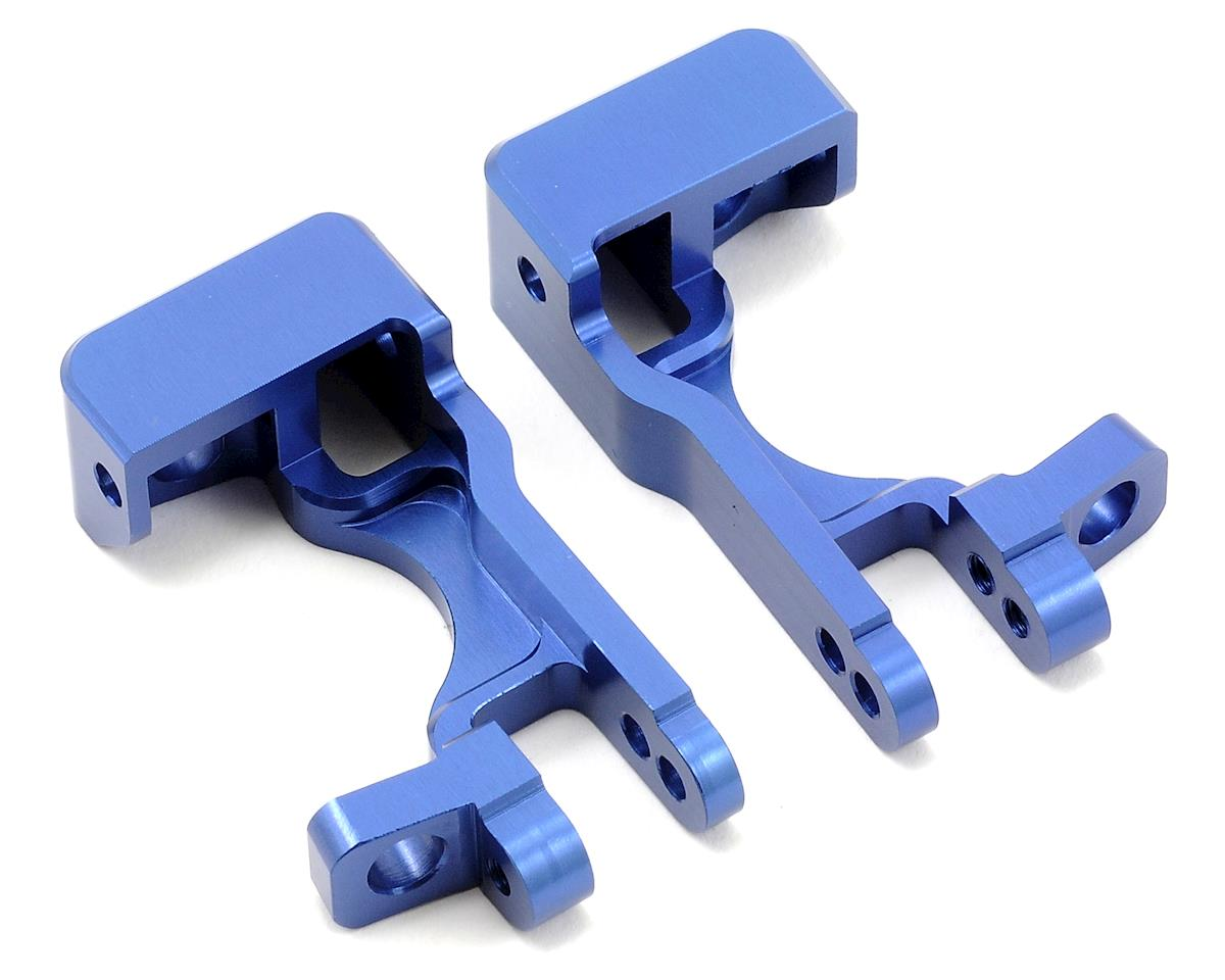 Aluminum Front C-Hubs (Blue) (Slash 4x4) by ST Racing Concepts