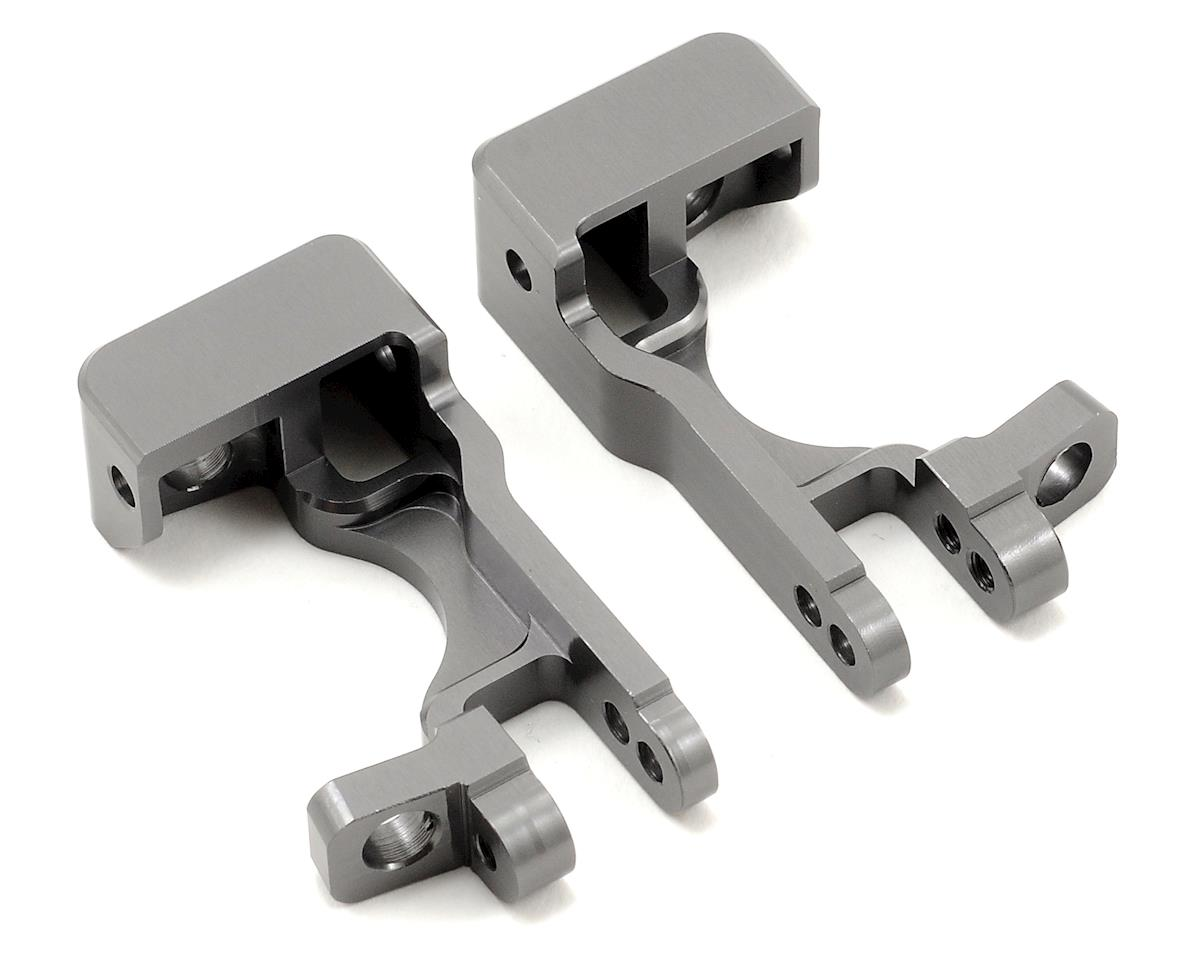 ST Racing Concepts Aluminum Front C-Hubs (Gun Metal) (Slash 4x4)