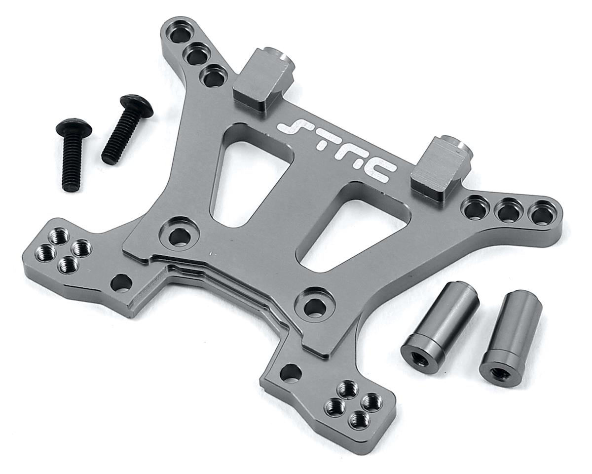 Aluminum HD Front Shock Tower (Gun Metal) (Slash 4x4) by ST Racing Concepts