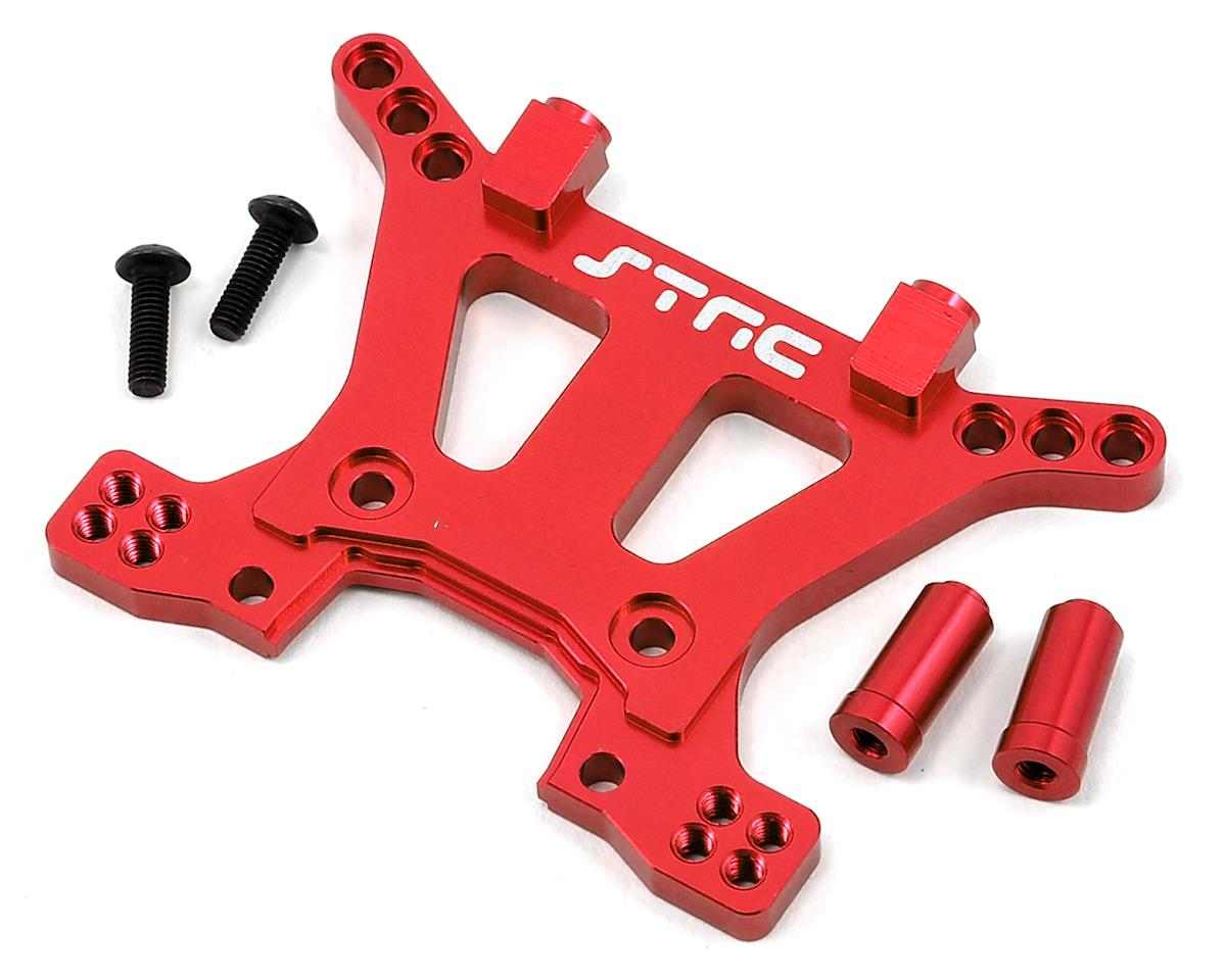 Aluminum HD Front Shock Tower (Red) (Slash 4x4) by ST Racing Concepts