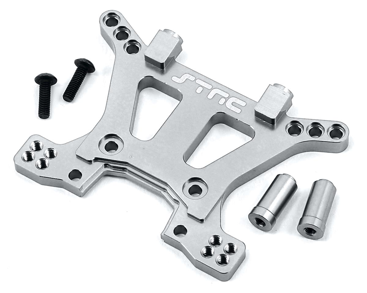 Aluminum HD Front Shock Tower (Silver) (Slash 4x4) by ST Racing Concepts