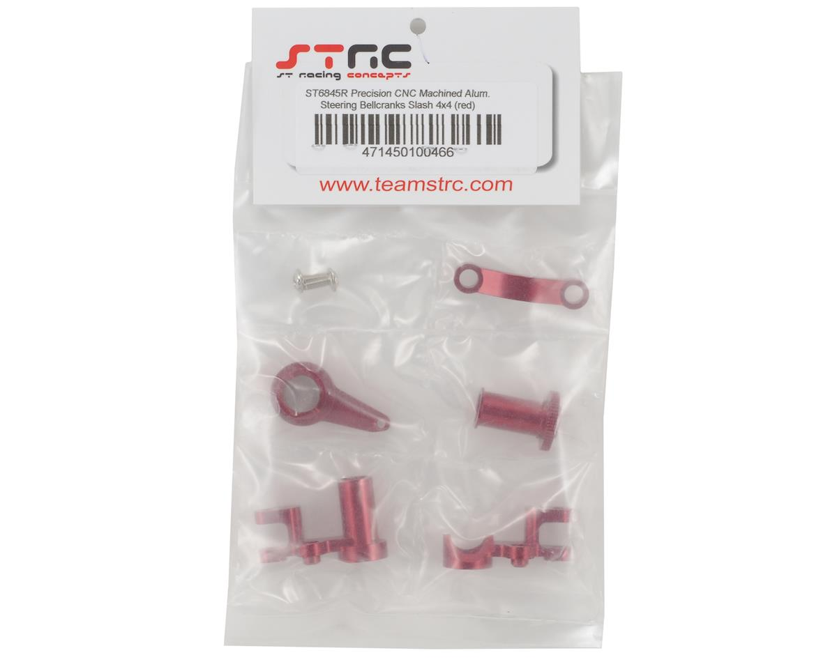 ST Racing Concepts HD Aluminum Steering Bellcrank Set (Red) (Slash 4x4)