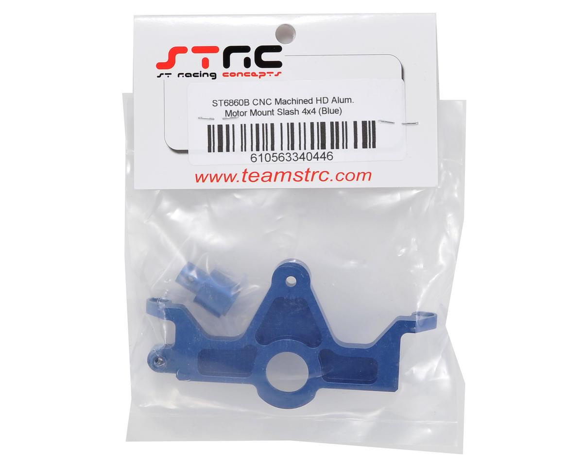 ST Racing Concepts HD Aluminum Motor Mount (Blue) (Slash 4x4)