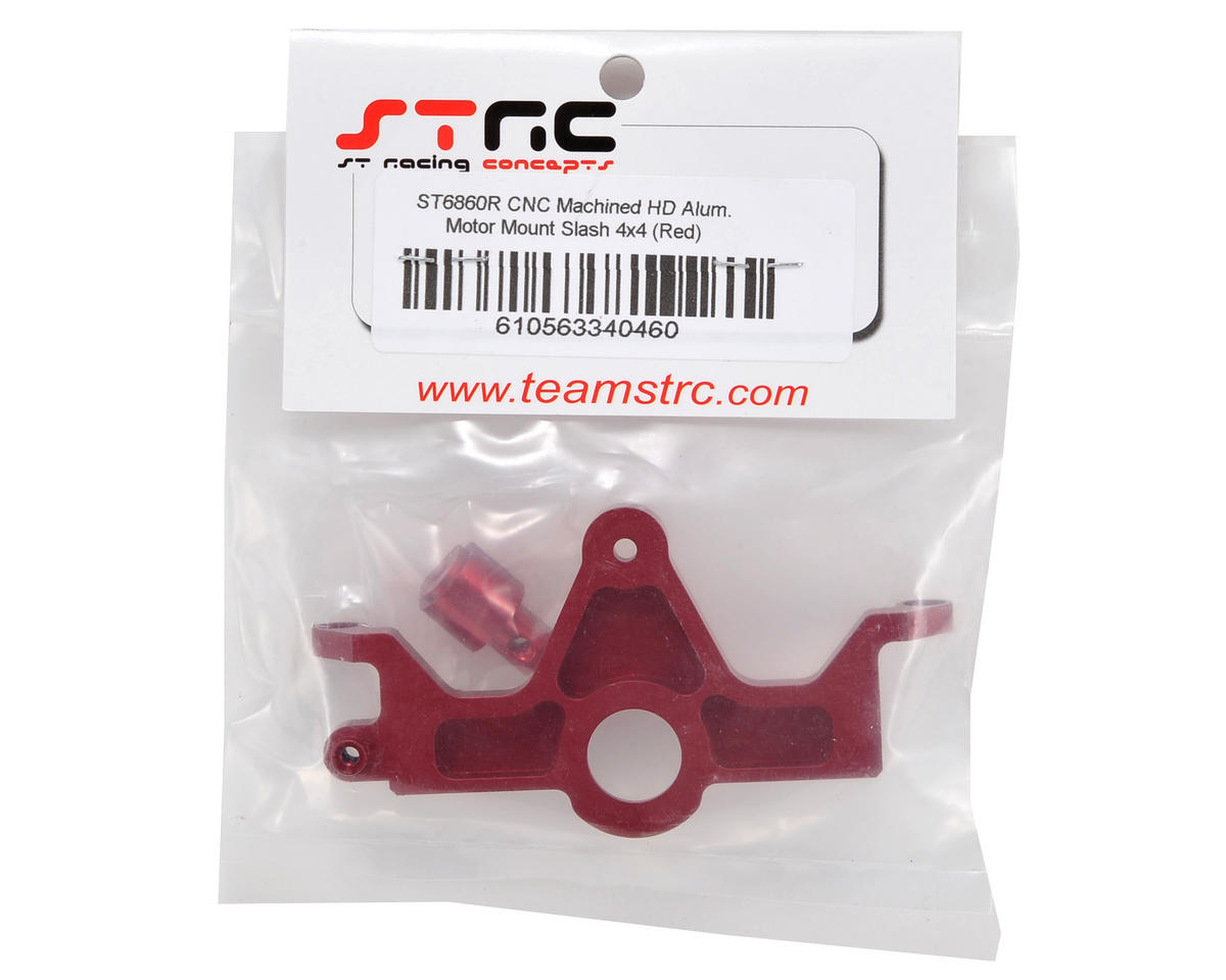 ST Racing Concepts HD Aluminum Motor Mount (Red) (Slash 4x4)