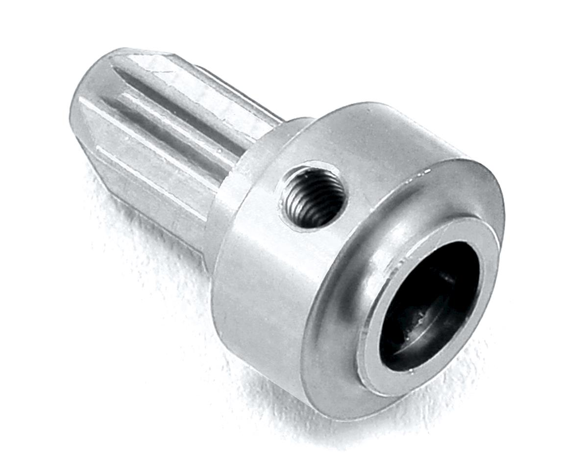 ST Racing Concepts Aluminum Center Driveshaft Front Hub (Silver)