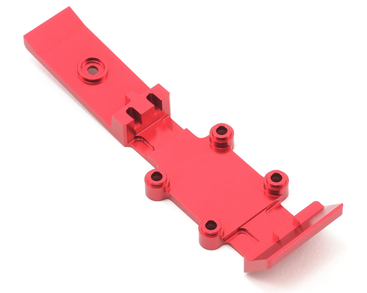 ST Racing Concepts Aluminum Front & Mid Heavy Duty Skid Plate (Red)