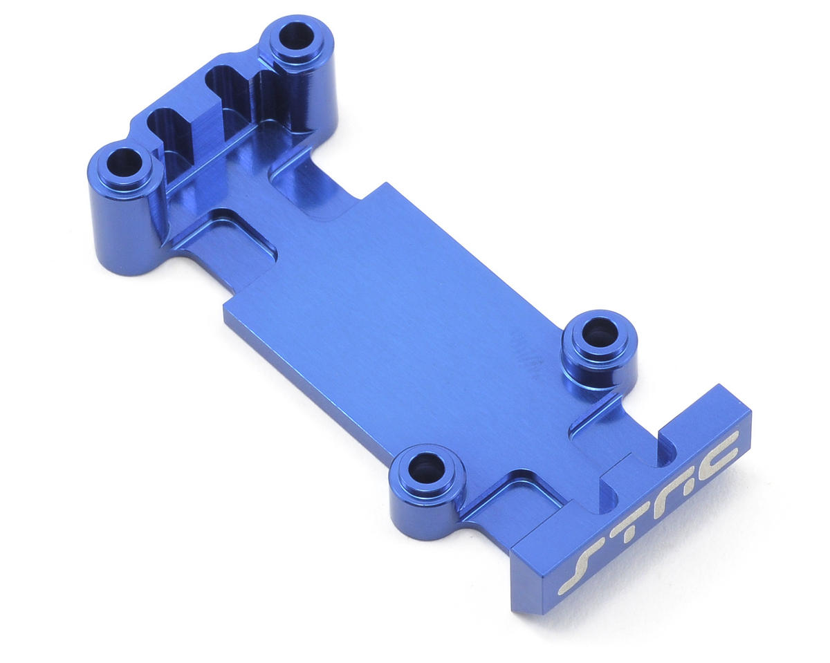 ST Racing Concepts Aluminum Rear Heavy Duty Skid Plate (Blue)