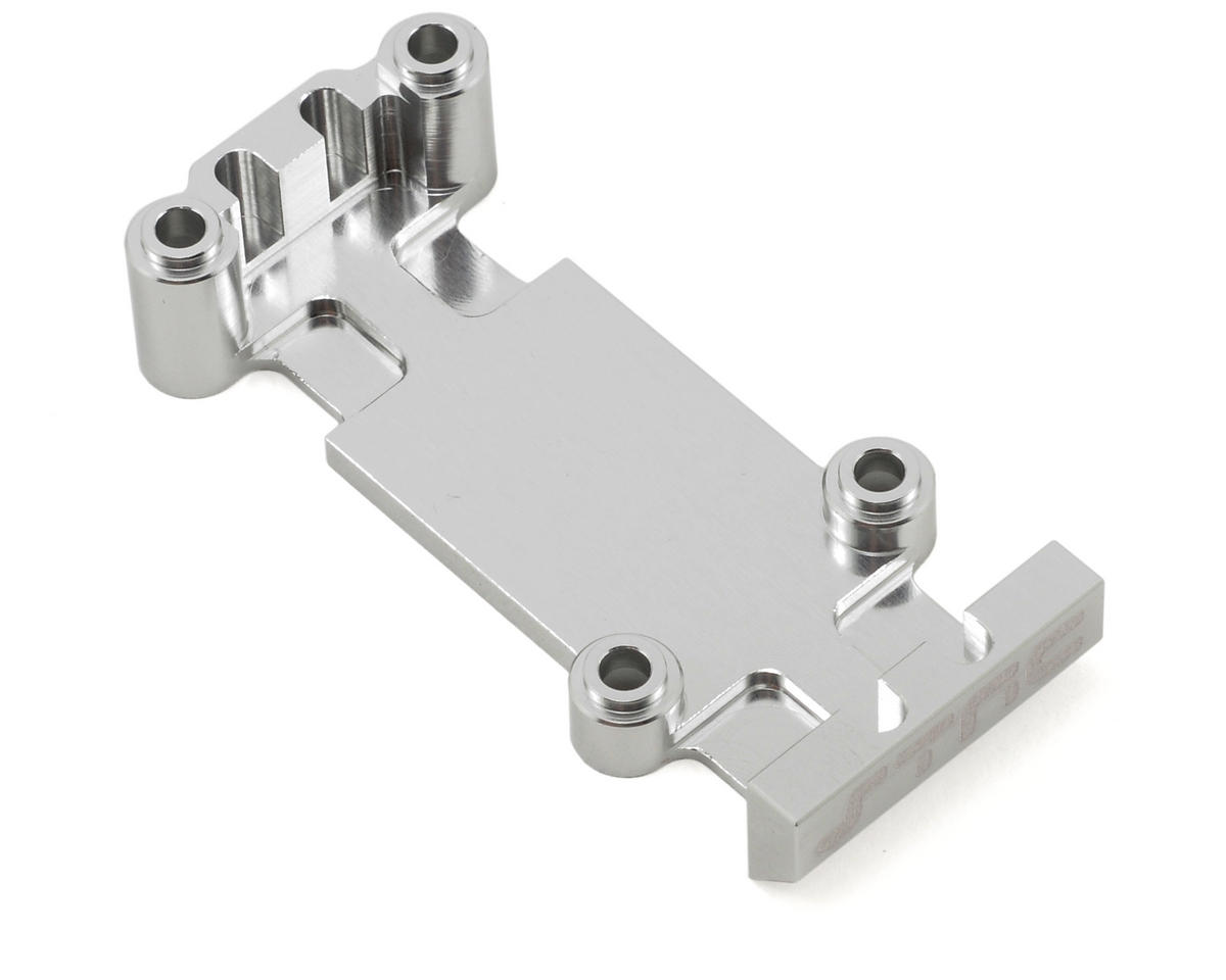 ST Racing Concepts Aluminum Rear Heavy Duty Skid Plate (Silver)