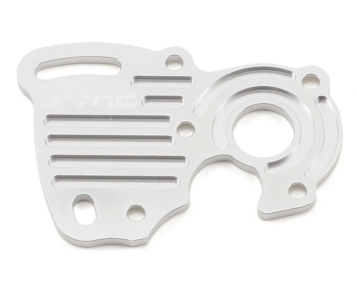 ST Racing Concepts Aluminum Finned Heat Sink Motor Plate (Silver)