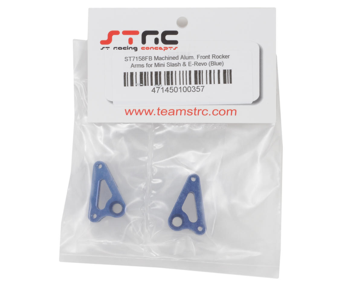 ST Racing Concepts Aluminum Front Rocker Arms (Blue) (2)