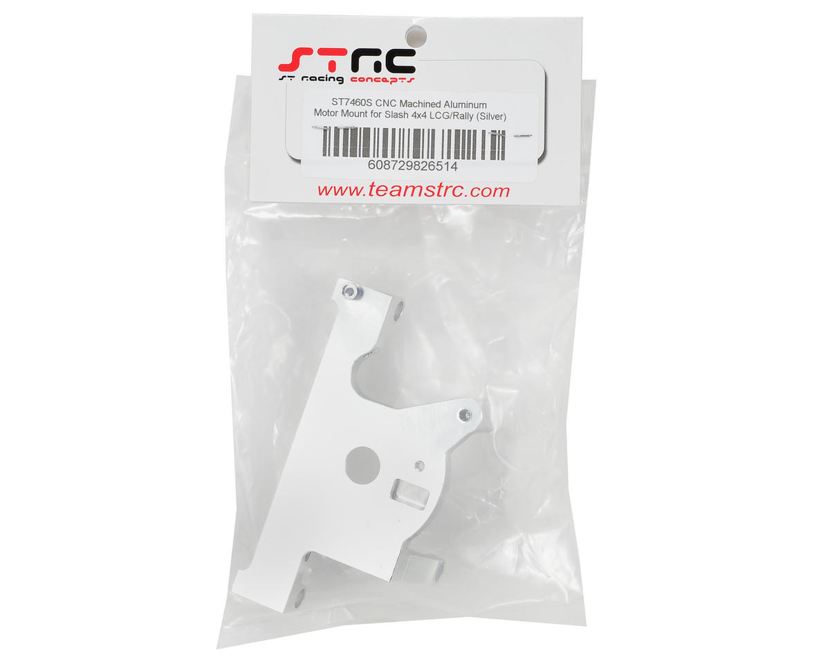 ST Racing Concepts Aluminum LCG Motor Mount (Silver)