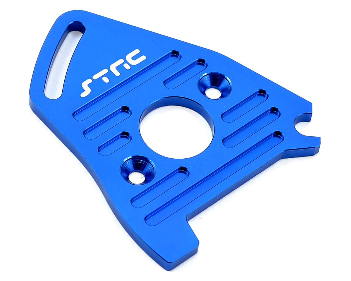 Heat Sink Motor Plate (Blue) by ST Racing Concepts