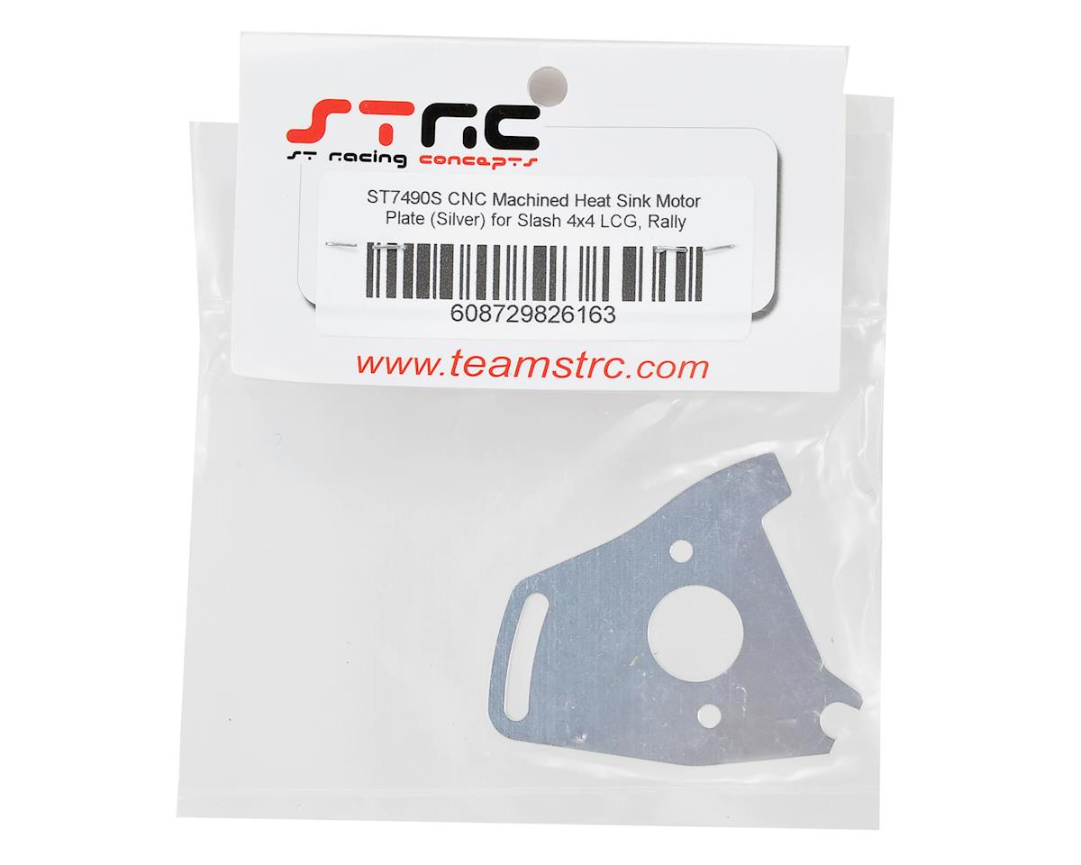 Heat Sink Motor Plate (Silver) by ST Racing Concepts