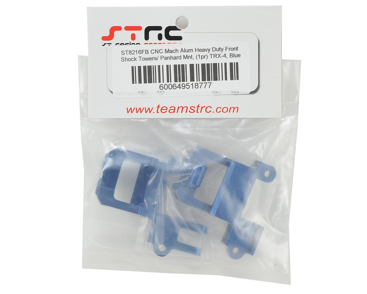 ST Racing Concepts Traxxas TRX-4 HD Front Shock Towers/Panhard Mount (Blue)