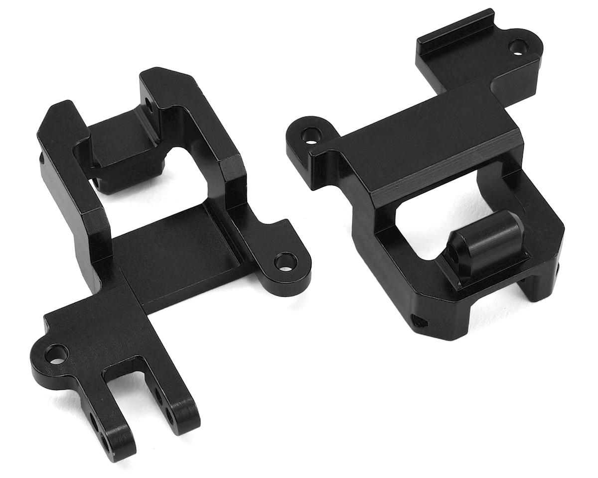 Traxxas TRX-4 HD Front Shock Towers/Panhard Mount (Black)