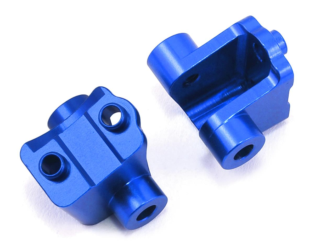 ST Racing Concepts Traxxas TRX-4 Aluminum Rear Lower Shock Mounts (2) (Blue)